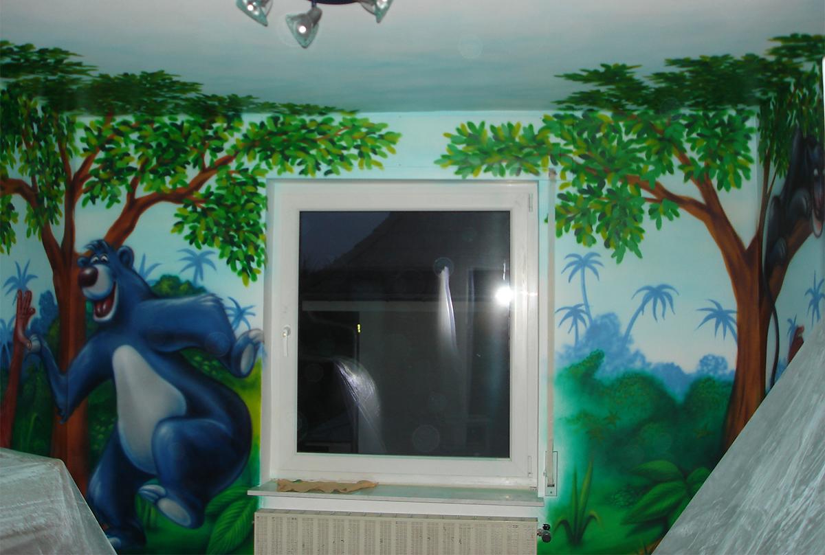 Dschungelbuch im Kinderzimmer 3 - Scid and Harti