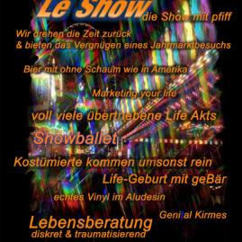 """Flyer """"Le Show 1"""""""
