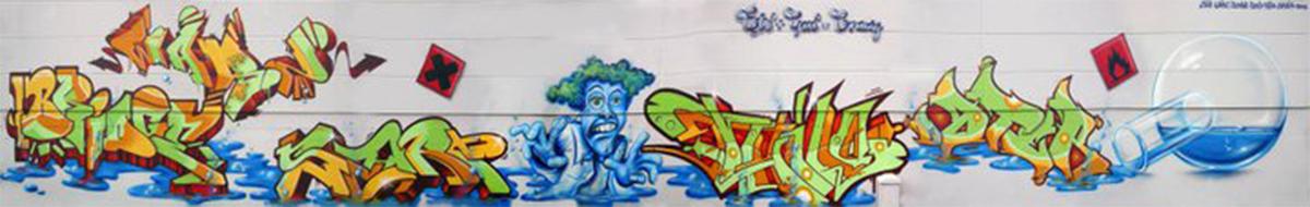 Rüsselsheim Wand 1