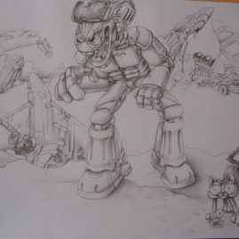 Sketchbook Character (Skizze)
