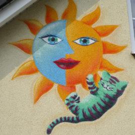 Sonne & Katze
