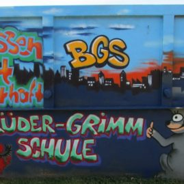 Brüder-Grimm-Schule Container